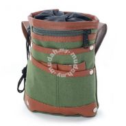 Army Green Retro Stylish Casual Waist Travel Bag