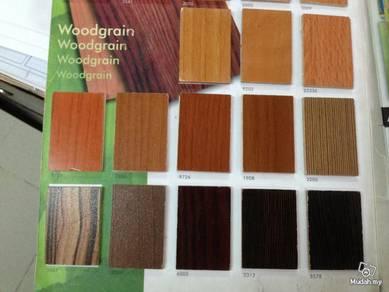 Woodgrain plwood for home deco