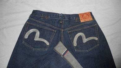 Evisu Lot 0002 W32 L32, Selvage jeans