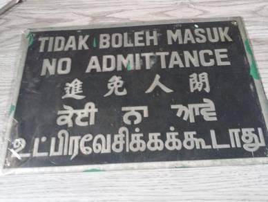 Signboard Deco