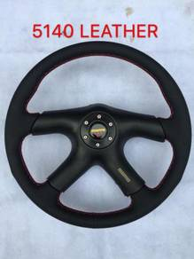 Momo putra 14 inch full leather steering wwf