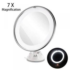 Ruimio 7x Magnification LED Make up Mirror