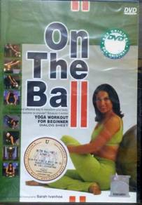 DVD Sarah Invanhoe On The Ball Yoga Workout