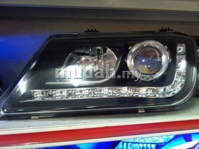 Proton waja audi led projector head lamp headlamp