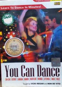 DVD Vicki Regan Ron De Vito You Can Dance