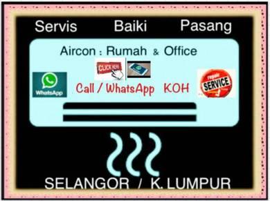 Aircon PRO AIRCOND KL&SEL- Damansara & sekitar