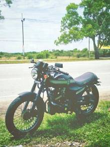 Cafe racer 125cc motor thailand classic style