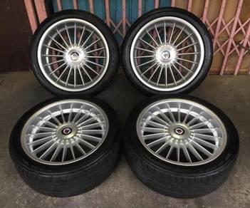 Alpina Rim 19 complete tire