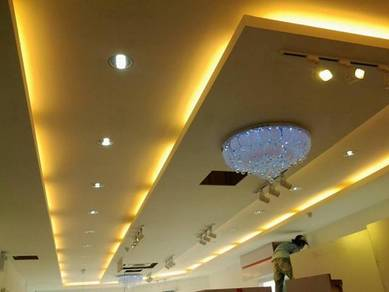 Drywall Partition & Plaster Ceiling 1V
