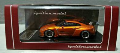 Ignition Model 1:64 Pandem Nissan GT-R (Orange)