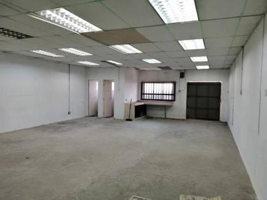 Klang Jaya-Light Industrial Factory(with OFFICE)-2 Storey 24x80ft!RENO