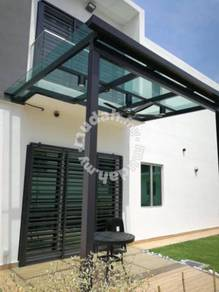Skylight glass roofing 玻璃屋顶 Bumbung Cermin