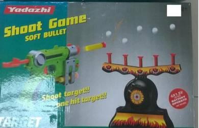 Kids Shooting Target Battery (pistol kanak Kanak)