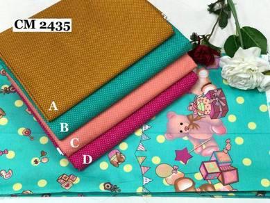 Kain Cotton High Quality & Murah CM2433-35