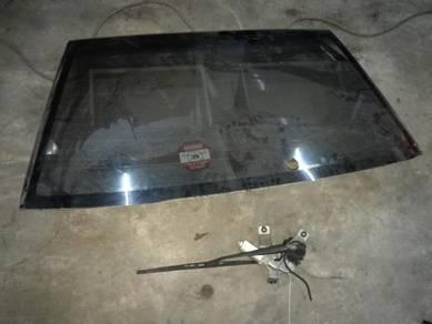 Rear Glass Windscreen Lancer Evolution 7 8 9 Evo C