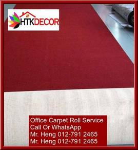 Classic Plain Design Carpet Roll with Install 7DFU