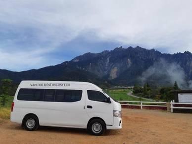 12 seater Van Sewa Kota Kinabalu