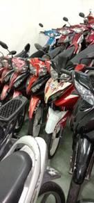 2012 Modenas kriss 120 Clear stock (jualan gudang)