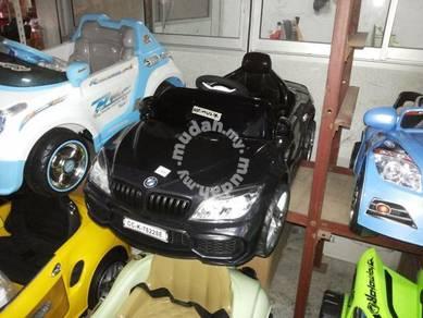 Black bmw children car