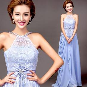 Blue prom dinner wedding dress RBP0187
