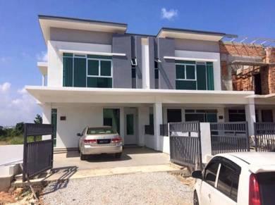 NEW 2 Storey Terrace * TURQUOISE * at Sungai Soi , Kuantan