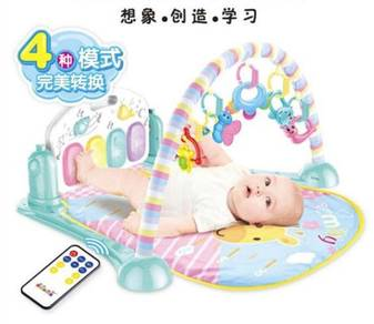 Baby Fitness Frame Piano Pedal Newborn Music Game