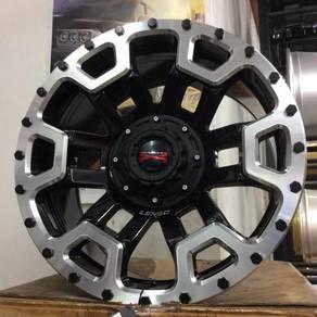 "Sport rim 4x4 ORIGINAL LENSO MAX-X08 18"""