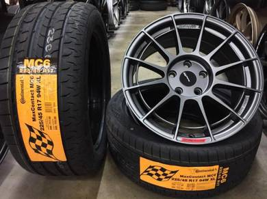 Rim Enkei NT03 Auto Option Siap tyr 17x8jj