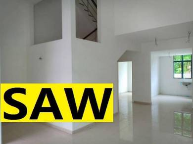 White Lily 3 Storey Terrace Original Middle unit (Freehold) Gelugor
