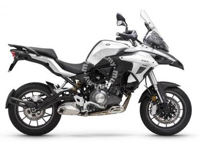 New benelli trk502 with side box promotion