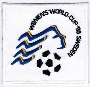 1995 2nd Sweden FIFA Women World Cup Patch