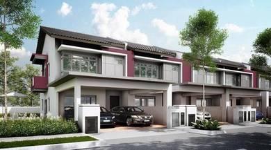 2 storey End Lot nr Putrajaya Diamond Hill
