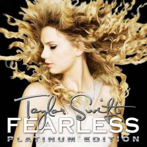 Taylor Swift Fearless Platinum Edition 180g LP