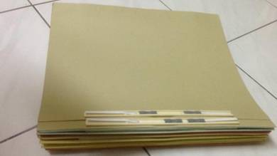 Manila Flat File Plastic Clip (Buy 1 Free 1)