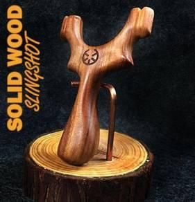 Slingshot TTF Solid Wood | Lastik Kayu