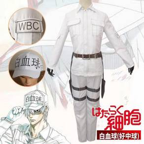 Anime Cells at Work leukocyte cosplay costume