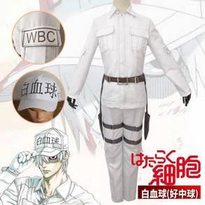 Anime Cells at Work leukocyte cosplay costume