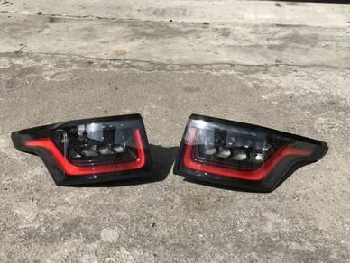 Range rover sport facelfit tail lamp SVR bodykit
