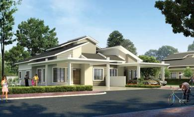 New Project Semi D House in Johor