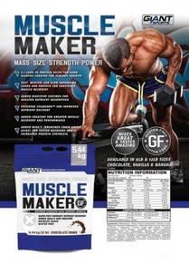 Giant Sport Muscle Maker Mass Gainer