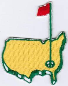 Augusta The US Masters Tournament PGA Golf Patch