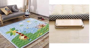 (KOREA) Animal Hide play Kids Thick Mat (Selimut