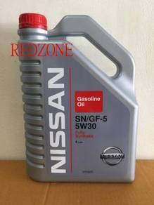 Nissan fully synthetic engine oil 5w-30 genuine
