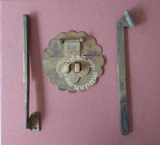 Latch and hinges