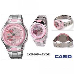 Casio original poptone lcf-10d-4a ladies watch