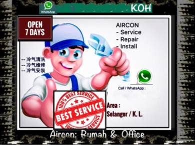 Aircon SEL/KL AIRCOND Pro- Salak Selatan & others