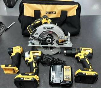 Dewalt 20v 4pc Tool Combo Set