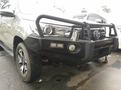 Toyota Revo Rocco Front Bull Bar Jungle Bumper