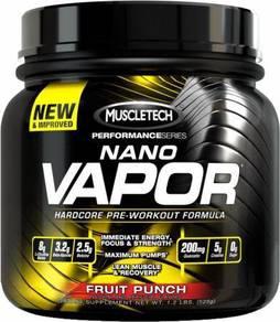 Nano vapor pre workout