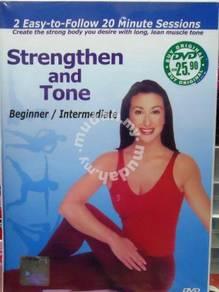 DVD Strengthen and Tone Beginner Intermediate DVD